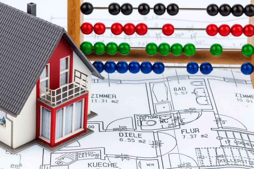 Wohnhaus Abakus Bauplan