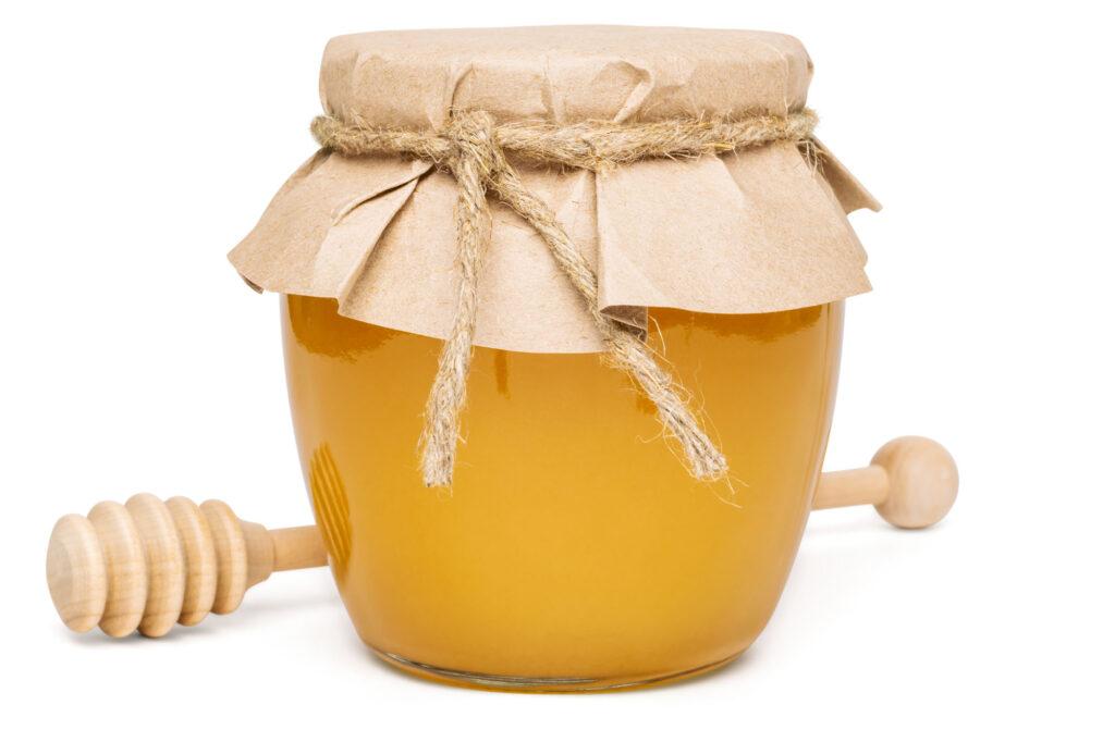 Honig im Glas